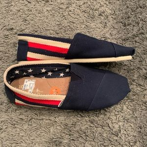 Red, White, and Blue TOMS
